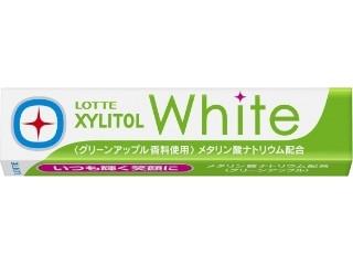 ロッテ キシリトールホワイト グリーンアップル 14粒