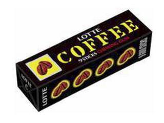 ロッテ コーヒーガム 9枚