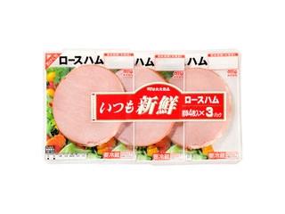 丸大食品 いつも新鮮ロースハム パック4枚×3