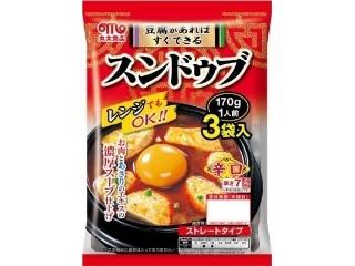 丸大食品 スンドゥブ 辛口 袋170g×3