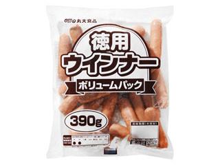 丸大食品 徳用ウインナー ボリュームパック 袋390g