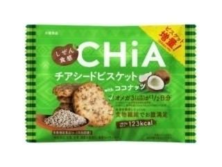 しぜん食感 CHiA チアシードビスケットwithココナッツ