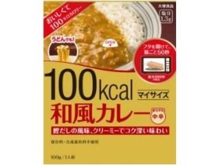 大塚食品 100kcal マイサイズ 和風カレー 箱100g