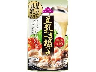 トップバリュ 国産大豆の豆乳使用 豆乳ごま鍋つゆ ストレートタイプ 袋750g
