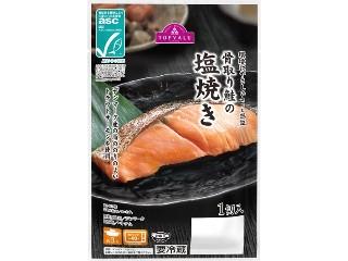 トップバリュ ASC認証 骨取り鮭の塩焼き パック1切