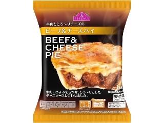 トップバリュ 牛肉ととろ~りチーズの ビーフ&チーズパイ 袋1個