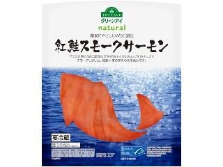 トップバリュ グリーンアイ 環境にやさしいMSC認証 紅鮭スモークサーモン 110g