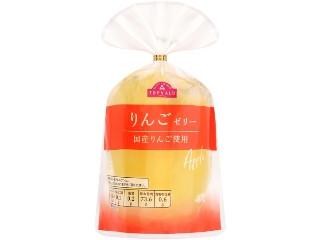 トップバリュ りんごゼリー 国産りんご使用 袋400g