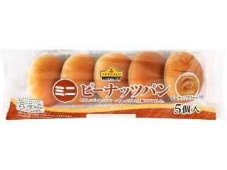 トップバリュ ミニピーナッツパン 袋5個