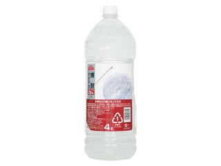 トップバリュ 焼酎 焼酎甲類 アルコール分25% ペット4000ml