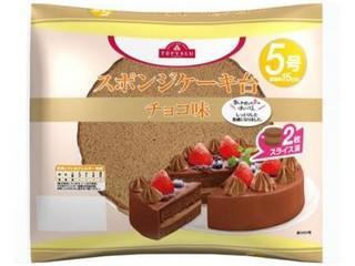 トップバリュ スポンジケーキ台 チョコ味 5号 袋1個