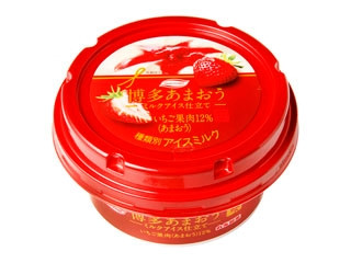 丸永 博多あまおう ミルクアイス仕立て カップ155ml