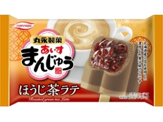 丸永 あいすまんじゅう ほうじ茶ラテ 袋85ml