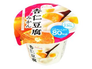杏仁豆腐みかん