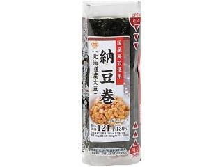 ミニストップ MINISTOP DELI 手巻寿司 納豆巻 北海道産大豆