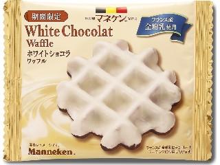 ホワイトショコラワッフル
