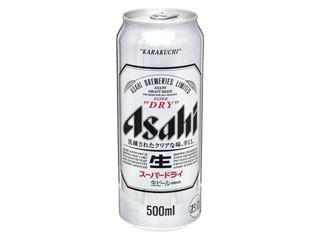 アサヒ スーパードライ 生 缶500ml