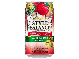 アサヒ スタイルバランス 完熟りんごスパークリング 缶350ml