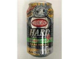 アサヒ ウィルキンソン・ハード 無糖ドライ ジンジャ 缶350ml