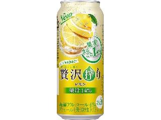 アサヒ 贅沢搾り レモン 缶500ml