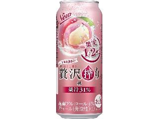 アサヒ 贅沢搾り 桃 缶500ml
