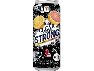 クリアクーラー STRONG オレンジ&グレープフルーツサワー