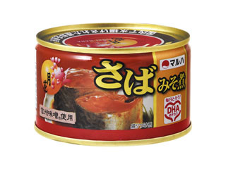 マルハ 月花 さばみそ煮 信州味噌使用 缶200g