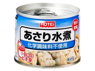 ホテイ あさり水煮 化学調味料不使用 缶125g