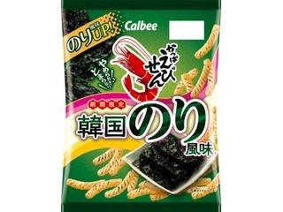 カルビー かっぱえびせん 韓国のり風味 袋70g