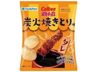 カルビー ポテトチップス 炭火焼きとりタレ味