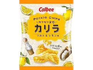 カルビー POTATO CHIPS カリラ ソルト&レモン味 袋60g