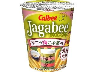 カルビー Jagabee 不二の梅こぶ茶味 カップ38g