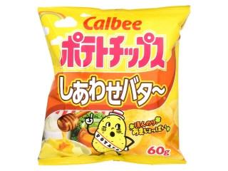 カルビー ポテトチップス しあわせバター 袋60g