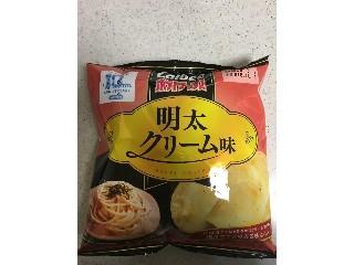 カルビー ポテトチップス 明太クリーム 袋50g