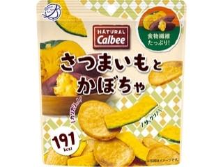 カルビー Natural Calbee さつまいもとかぼちゃ 袋35g