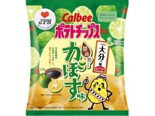 カルビー ポテトチップス 醤油香るかぼす味 袋55g