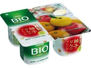 ダノン ダノンビオ 柚子りんごブレンド カップ75g×4