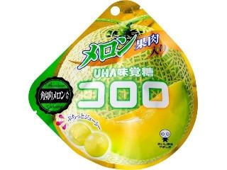 UHA味覚糖 コロロ メロン果肉入り 袋40g