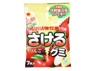 味覚糖 さけるグミ 津軽りんご 袋7枚