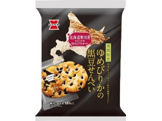 岩塚製菓 ゆめぴりかの黒豆せんべい 袋10枚