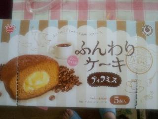 ふんわりケーキ ティラミス