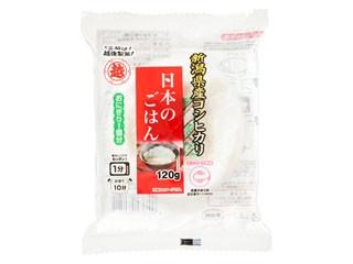 越後製菓 日本のごはん 新潟県産コシヒカリ 袋120g