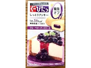 ナリスアップ ぐーぴたっ ブルーベリーチーズケーキ 3本(1本×3袋)