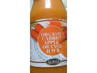 AURELI オーガニックキャロットアップルオレンジジュース