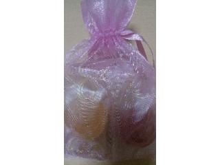鹿鳴館 プレミアム 巾着袋 ピンク 6個