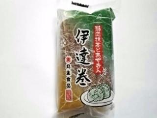 丸生食品 静岡抹茶と小豆入り伊達巻 1本