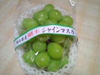 JA岡山 晴王シャインマスカット