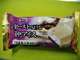 井村屋 小倉トーストのような最中アイス 150ml
