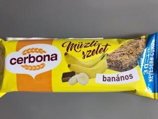 ビーグラッド セルボナ ミューズリーバー チョコバナナ 袋20g
