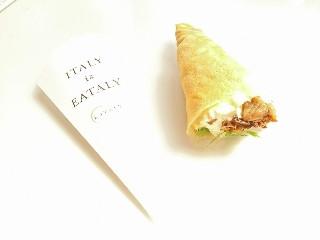 TOKYO EATALYa(イータリー) CANNOLI BAR ゴルゴンゾーラとラムレーズンいちじくクレープ 1個